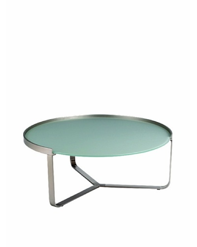 Furniture Contempo Clara Coffee Table, Brushed NickelAs You See