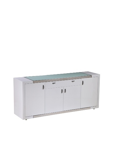 Furniture Contempo Franco Buffet, WhiteAs You See