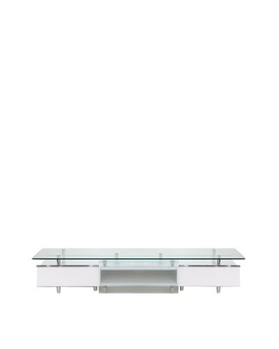 Furniture Contempo Ema TV Unit, White