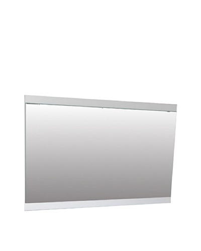 Furniture Contempo Anna Mirror, High Gloss White