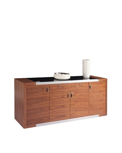 Furniture Contempo Franco Buffet, Walnut Veneer