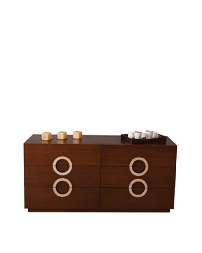 Furniture Contempo Eddy Dresser, Walnut Veneer