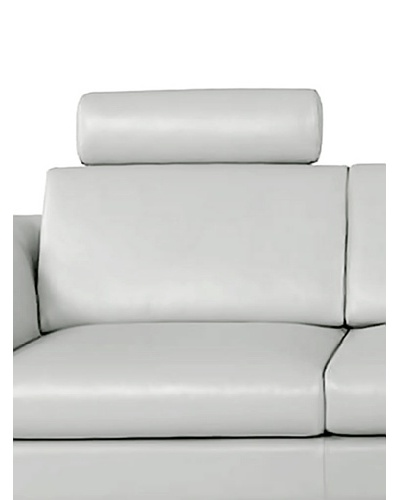 Furniture Contempo Angela Sofa/Sectional Headrest, GreyAs You See