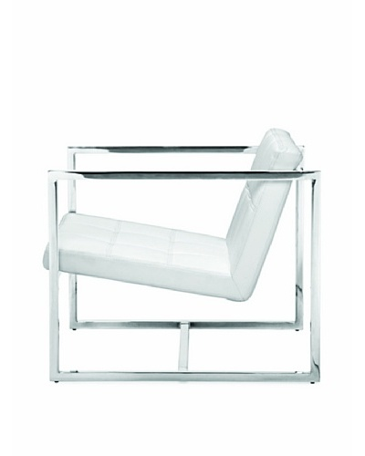 Furniture Contempo Lisa Chair, White