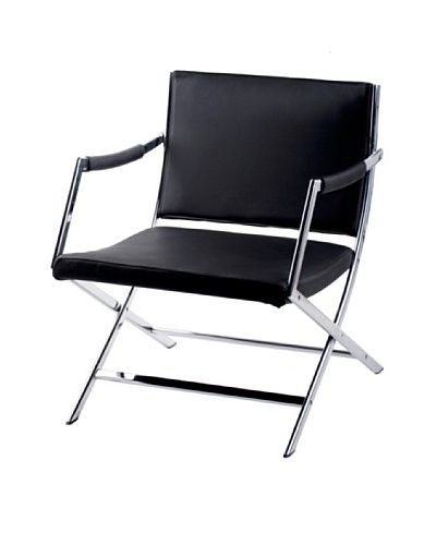 Furniture Contempo Jessy Armchair, Black