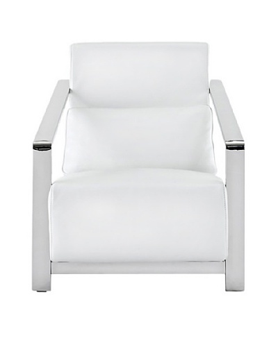 Furniture Contempo Erika Armchair, White