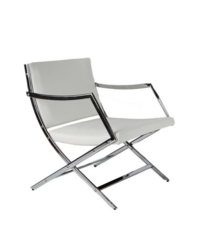 Furniture Contempo Jessy Armchair, White