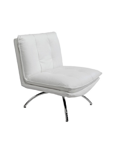 Furniture Contempo Dakota Chair, White