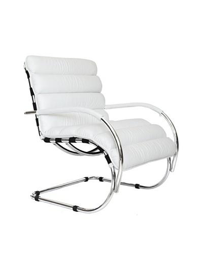 Furniture Contempo Verona Chair, White