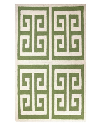 Peking Handicraft Greek Key Rug