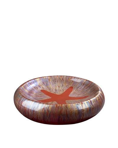 Fusion Z Large Blown Sand Bowl, Red