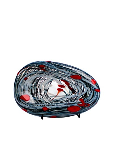 Fusion Z Nest Bowl, Black/White/Red