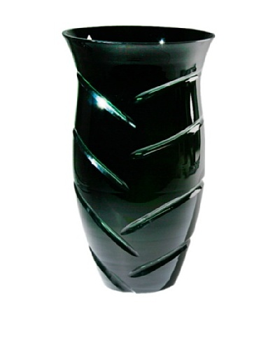 FusionZ Vanity Cut Vase [Green/Black]