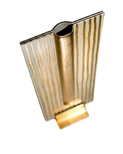FusionZ Rectangular Vase [Gold/Pearl/White]