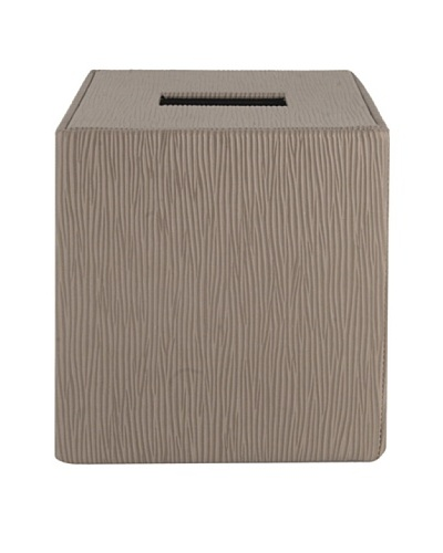 Gail DeLoach Vinyl Tissue Box, Pebble Grain