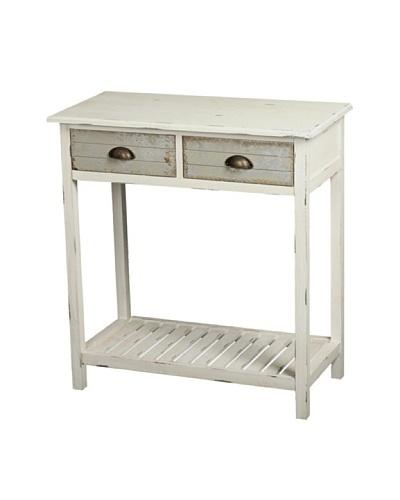 Gallerie Décor Dover Console Table, Cream