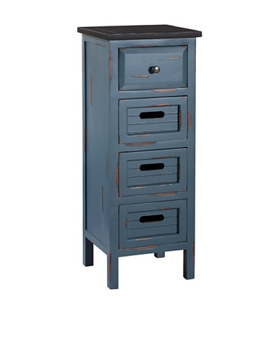 Gallerie Décor Shoreham Accent Cabinet, Blue