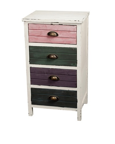 Gallerie Décor Hampton Accent Cabinet, Multi
