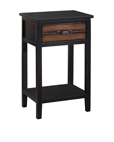 Gallerie Décor Adirondack Accent Table, EspressoAs You See