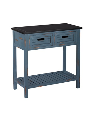 Gallerie Décor Shoreham Accent Table, Blue