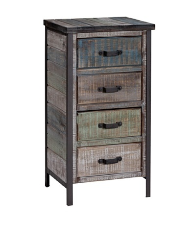 Gallerie Décor Soho Accent Cabinet, Blue