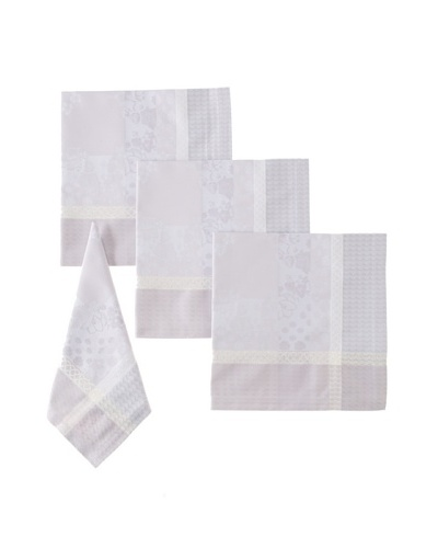 Garnier-Thiebaut Set of 4 Perce Neige Napkins