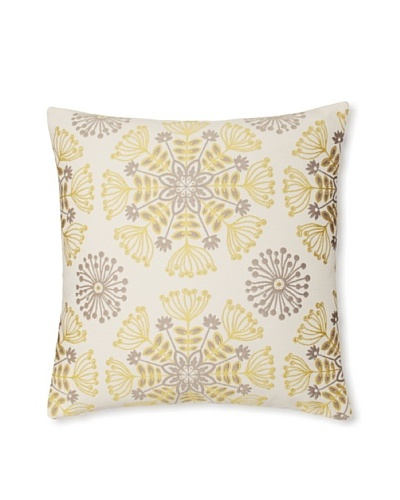 The Pillow Collection Jamesie Floral Decorative Pillow