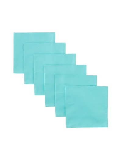 Garnier-Thiebaut Set of 6 Confetti Napkins, Azur