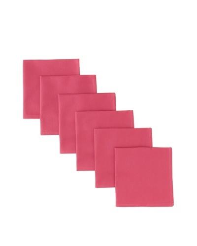 """Garnier-Thiebaut Set of 6 Confettis Napkins, Azalee, 18"""" x 18"""""""