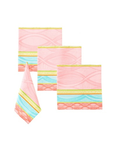 Garnier-Thiebaut Set of 4 Mille Totem Napkins [Marshmallow]