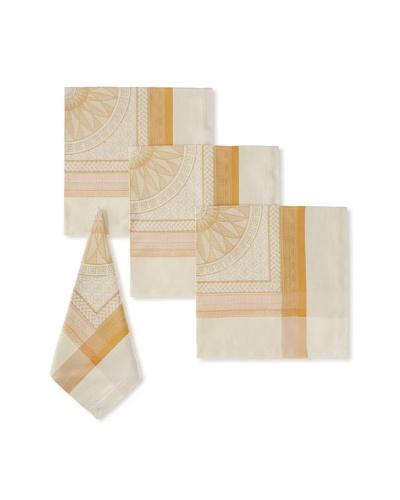 Garnier-Thiebaut Set of 4 Pantheon Napkins