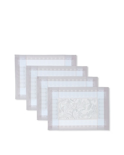 Garnier-Thiebaut Set of 4 Luxuriance Placemats