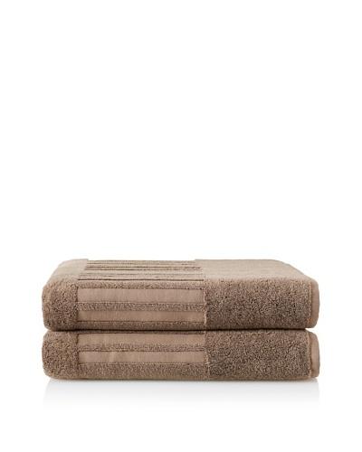 Garnier-Thiebaut Set of 2 Bath Sheets, Reglisse