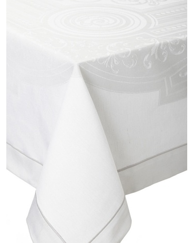 Garnier-Thiebaut Jardin Royal Tablecloth [Tourterelle]