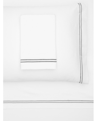 Garnier-Thiebaut Nice Sheet Set [White/Grey]