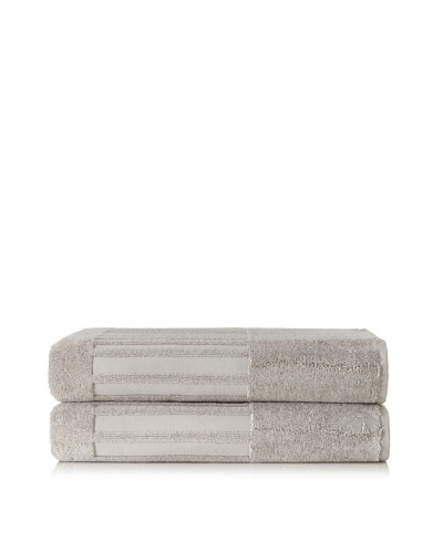 Garnier-Thiebaut Set of 2 Bath Sheets, Galet