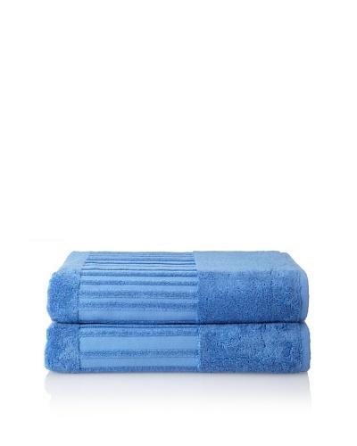 Garnier-Thiebaut Set of 2 Bath Sheets, Lagon