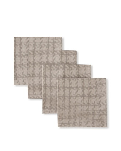 Garnier-Thiebaut Set of 4 Puzzle Napkins