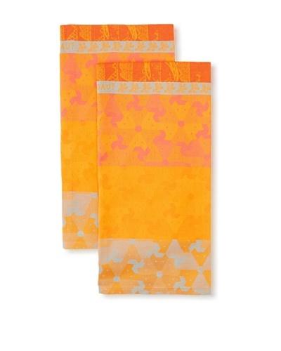 Garnier-Thiebaut Set of 2 Renard Kitchen Towels, Roux, 22 x 30As You See