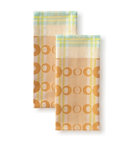 Garnier-Thiebaut Set of 2 Optique Guest Towels