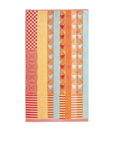 Garnier-Thiebaut Graphic Beach Towel [Coral]