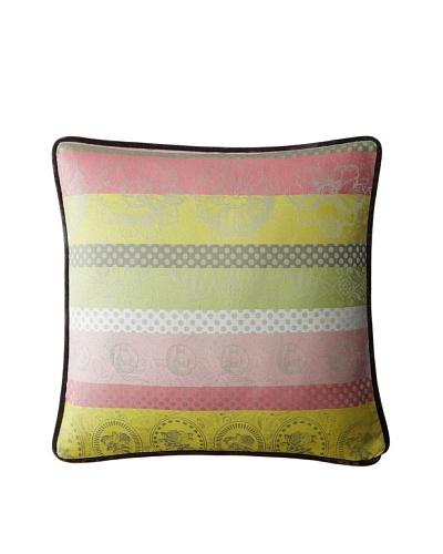 Garnier-Thiebaut Mille Eclats Rose Cushion