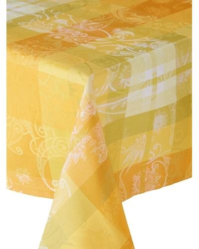 Garnier-Thiebaut Mille Panache Tablecloth [Canary]