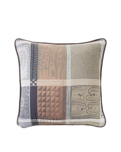 Garnier-Thiebaut Mille Wax Cendre Cushion