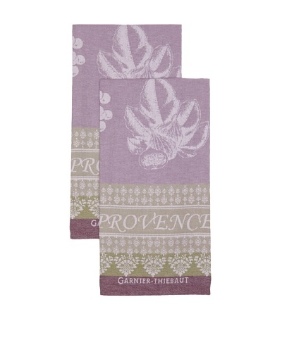 Garnier Thiebaut Set of 2 Provence Lavande Kitchen Towels
