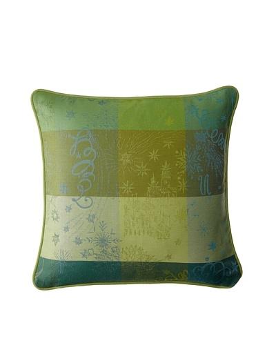 Garnier-Thiebaut Mille Couleurs Lime Cushion