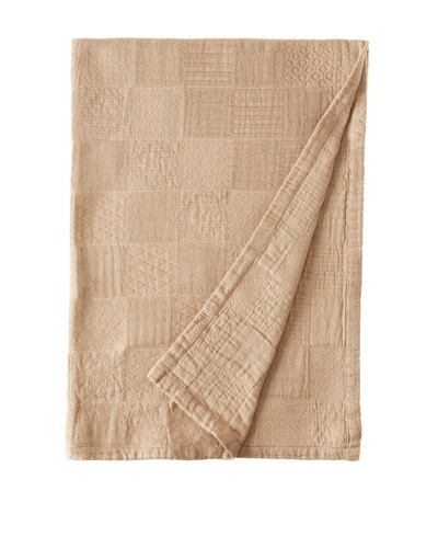Garnier-Thiebaut Cocoon Noisette Throw