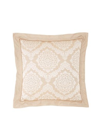 "Garnier-Thiebaut Octavie Euro Sham, Naturel, 26"" x 26"""
