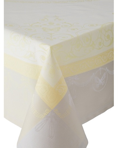 Garnier-Thiebaut Eugenie Tablecloth [Jaune Tendre]