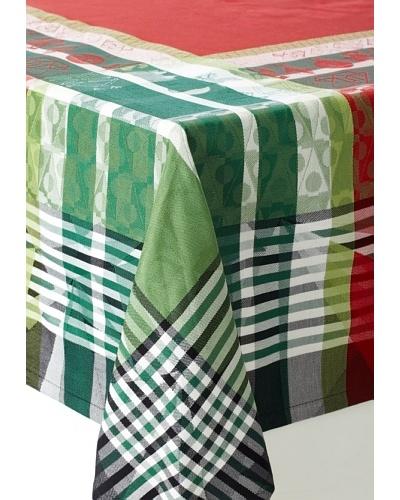 Garnier-Thiebaut Christmas Light Tablecloth